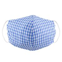 facemask-gingham