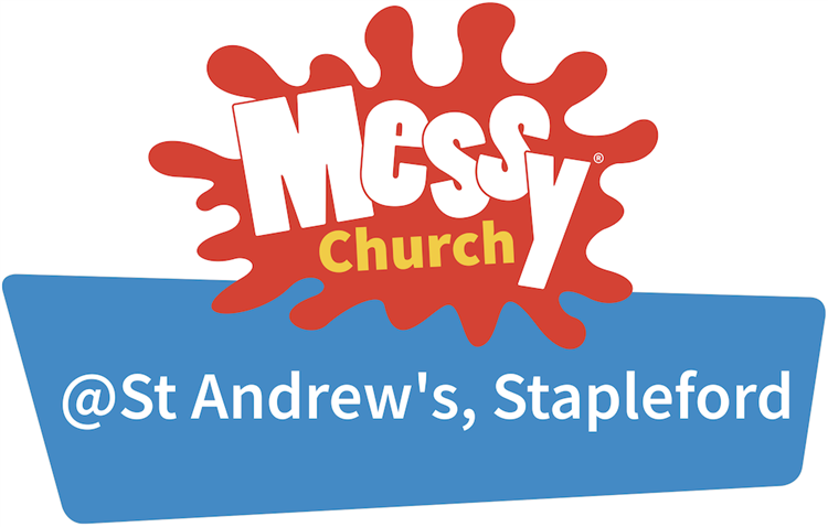 Messy Church logo - at St Andr